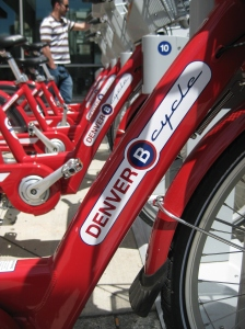 Denver B-cycle bike share