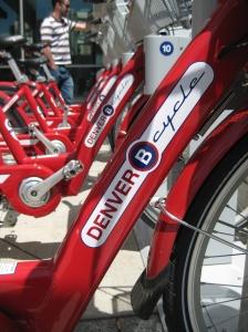 Denver B-cycle bike share