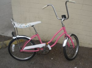 Pink Schwinn Fair Lady Bicycle
