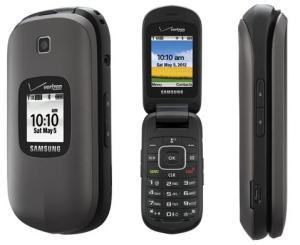 Samsung gusto 2 sch-u365 cdma 1x flip clamshell phone verizon